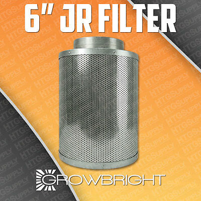 "6"" x 14"" INCH ACTIVATED CARBON CHARCOAL AIR FILTER ODOR CONTROL SCRUBBER EXHAUST"