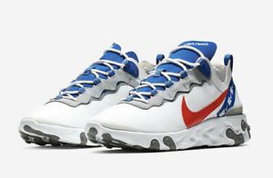 Nike MEN'S React Element 55 RED WHITE