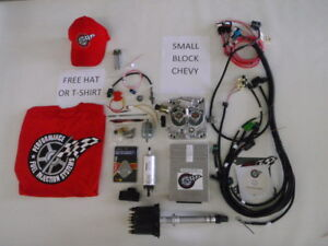 EFI Complete TBI Fuel Injection Kit  -For Stock Small Block Chevy 383  400 CI