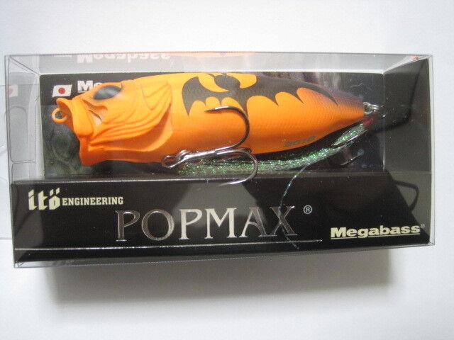 Megabass Ito Pop Max Calabaza de Halloween de Color 2018 Color Limitada Nuevo en paquete    popmax