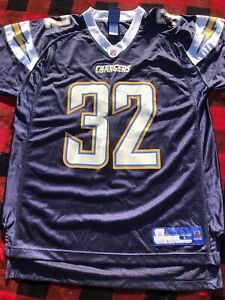 Details about Reebok NFL Eric Weddle Jersey San Diego Chargers #32 Navy Blue Large Autograph