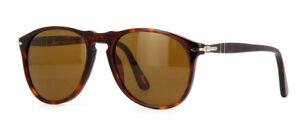Persol 9649-S 9649 Sunglasses Havana 24 57 Polarized Authentic 55mm