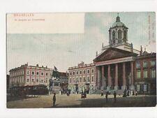 Bruxelles St Jacques Sur Coudenberg Belgium Vintage U/B Postcard 264a