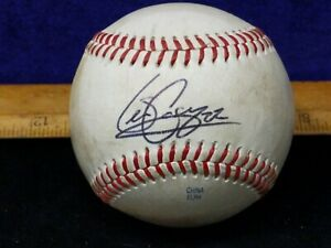 1X Game Used Autographed, auto, Sean Casey #22 Red Sox @ McCoy Stadium 5-8-08