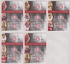 2012-UPPER-DECK-UNIVERSITY-OF-ALABAMA-COLLEGIATE-CARDS-99-SHIPPING