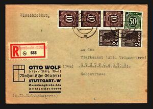 Germany-1947-Registered-Cover-to-Stuttgart-Z14078