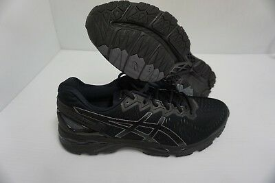 Détails sur Asics Homme Gel Kayano 23 Onyx Noir Carbone Chaussures Course Taille 8.5 US