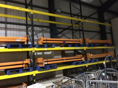 GOOD QUALITY WAREHOUSE SHELVING PALLET RACKING STRONG