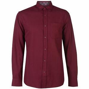 Pierre-Cardin-Mens-C-Plain-Twill-Long-Sleeve-Shirt-Casual-Regular-Fit-Chest