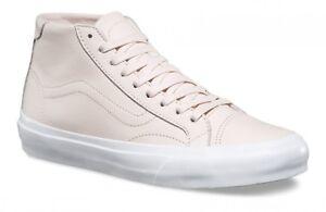 e05d402482 VANS Court Mid DX (Leather) Delicacy Pink Skate Shoes UltraCush ...