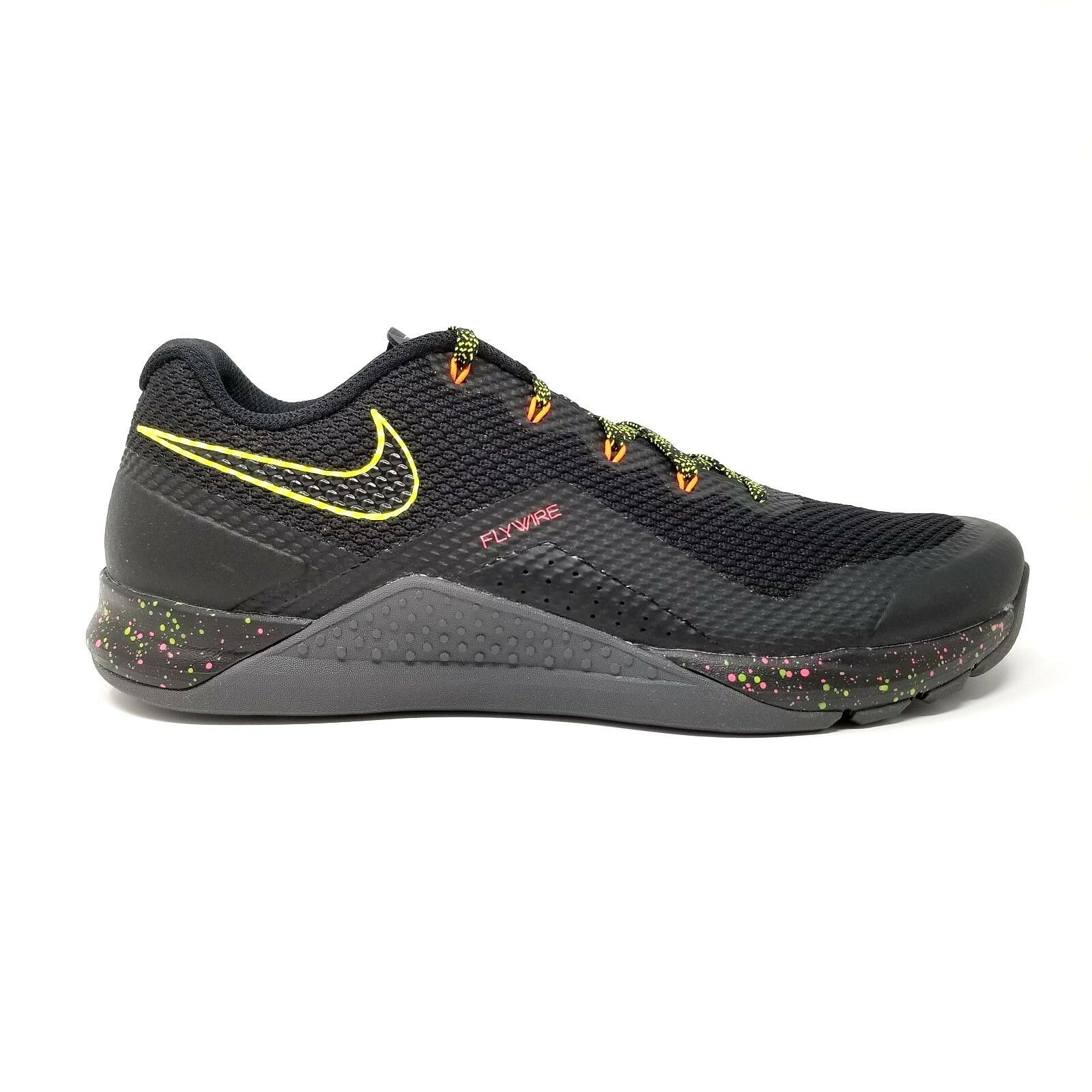 Nike Metcon Repper DSX 898048-007 Black/Volt/Crimson Mens Training Shoes Sz 11.5