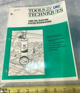 OTC-Tools-and-Techniques-1996-Fuel-Injection-System-Specifications-Manual-106103