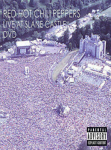 dvd red hot chili peppers live slane castle