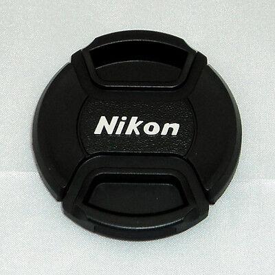 52mm Snap-On Lens Cap Hotshoe Cover 4 Nikon D80 D90 D3000 D3100 18-55mm 55-200mm