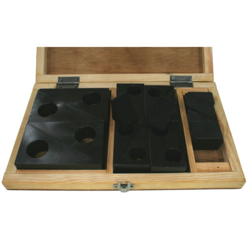 """Clamping Step Block Set 20 Piece to suit 5//8/"""" Stud"""