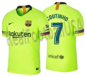76ad605e705 Image is loading NIKE-PHILIPPE-COUTINHO-FC-BARCELONA-AUTHENTIC-VAPOR-MATCH-