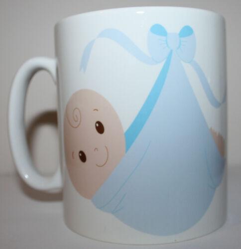 Baby Shower Sash /& Mug Mummy To Be New present gift BLUE BABY BOY