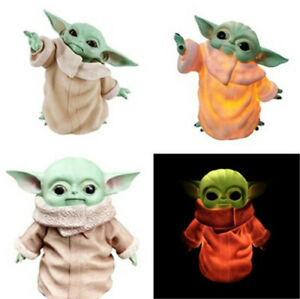 Star-Wars-Baby-Yoda-Glowing-Action-Figure-Night-Light-The-Force-Awakens-PVC-Toy