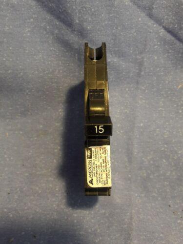 3 15amp breaker by Stab-lok Circuit Breaker 15 amp Single pole type cu-al
