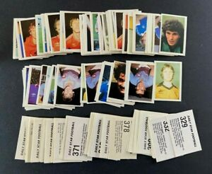 Daily Star Football 1981 Stickers - Qty 130