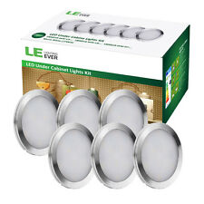 LE Home Kitchen LED Under Cabinet Counter Lighting Light 6pcs Bulbs Warm White