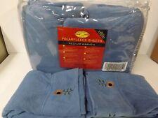 Malden Mills Polarfleece Sheet Set W//Xtra Fairisle PC-Grey-Queen-H213119