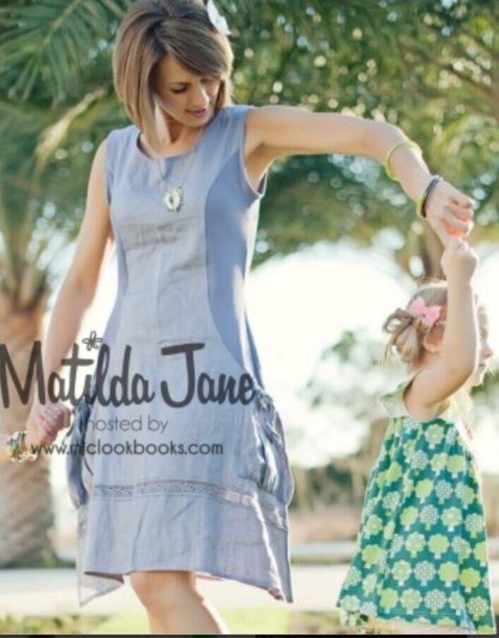 Womens MATILDA JANE House of clouds purplec Allie Dress size L Large VGUC