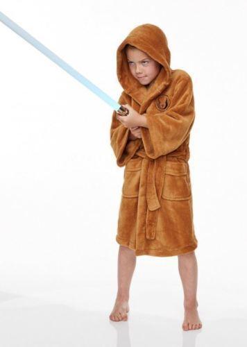 STAR Wars Jedi Costume ufficiale Accappatoio Bambino Accappatoio in Spugna Accappatoio