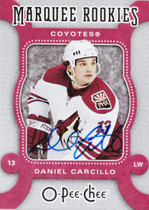 07-08-OPC-Daniel-Carcillo-Auto-Rookie-Buyback-OpeeChee-2008-09-Coyotes-2007