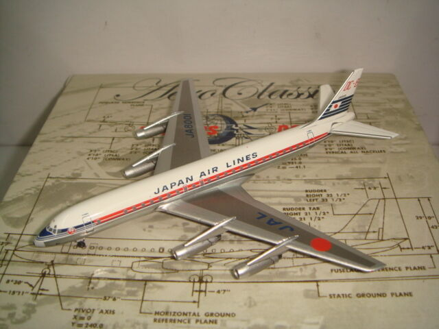 Aeroclassics 400 Japan Airlines JAL DC-8-32  1970s Coloreee  1 400