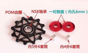 Bicycle-Jockey-Wheel-12T-14T-16T-Rear-Derailleur-Pulley-NSK-Bearing
