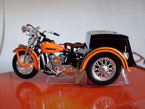HARLEY-Davidson-Modello-1947-riguardare-car-Maisto-Moto-Modello-1-18