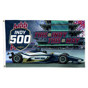 2019-Indianapolis-500-103RD-Running-Event-Collector-Flag-Banners-3-039-x-5-039
