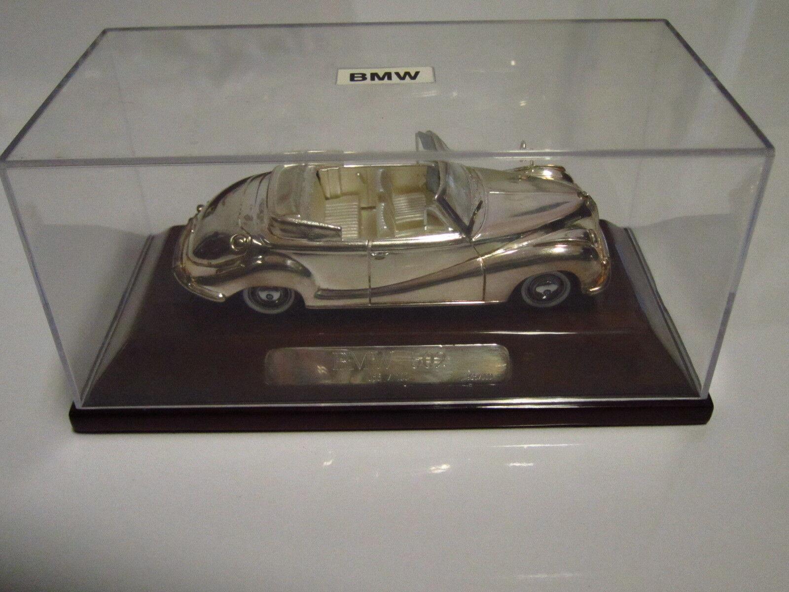 Josh modelo coche bmw 502, número 56 de 100 de masivamente 925 Sterling plata