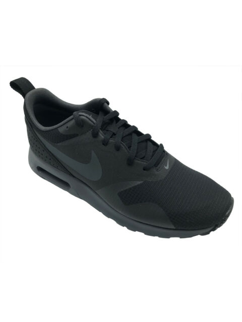 free shipping 2a5f6 1ce9d Nike Air Max Tavas Mens 705149-010 Black Anthracite Running ...