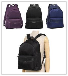 8eea96b23d80 Auth Longchamp Le Pliage Neo Medium Backpack Bag Black  Navy Blue ...