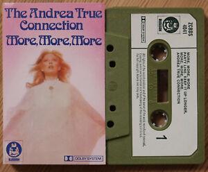 THE ANDREA TRUE CONNECTION - MORE MORE MORE (BUDDAH ZCBDS 4041) 1976 UK CASSETTE