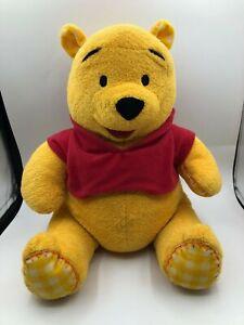 Winnie The Pooh Disney Baby Playgro Huggable Plush Kids Stuffed Toy Animal Bear