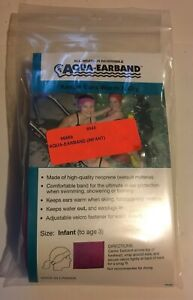 ALL-WEATHER-REVERSIBLE-AQUA-EARBAND-INFANT-TO-AGE-4-Child-Ear-Protection