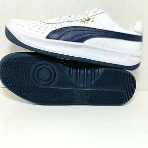 PUMA-GV-SPECIAL-Sneakers-Athletic-Shoes-White-Navy-Soft-Leather-Men-039-s-366613-06