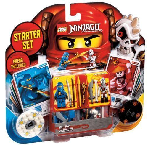 LEGO® NINJAGO 2257  Spinjitzu Spinner Starter-Set mit Jay Frakjaw  NEU OVP    Ausgezeichnetes Preis