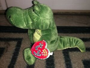 "TY BEANIE BABIES -Chompy The Gator - 2008 (RETIRED) 8"", NEW"