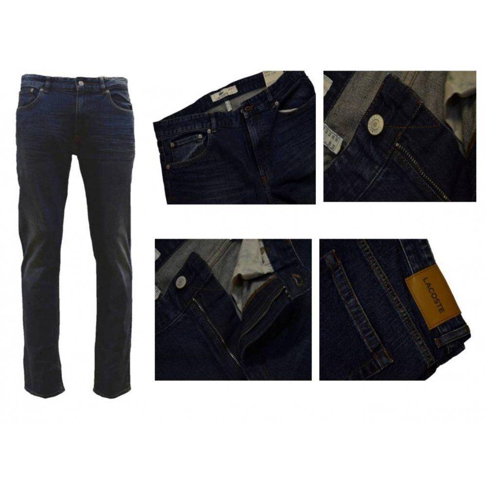 Lacoste Men's Stretch Fit Jeans - Deep Medium - HH9509-CDZ - RRP