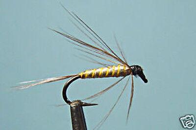 Wet Fishing Flies choix de tailles truite ou la truite de mer Fly 6 X Silver INVICTAS