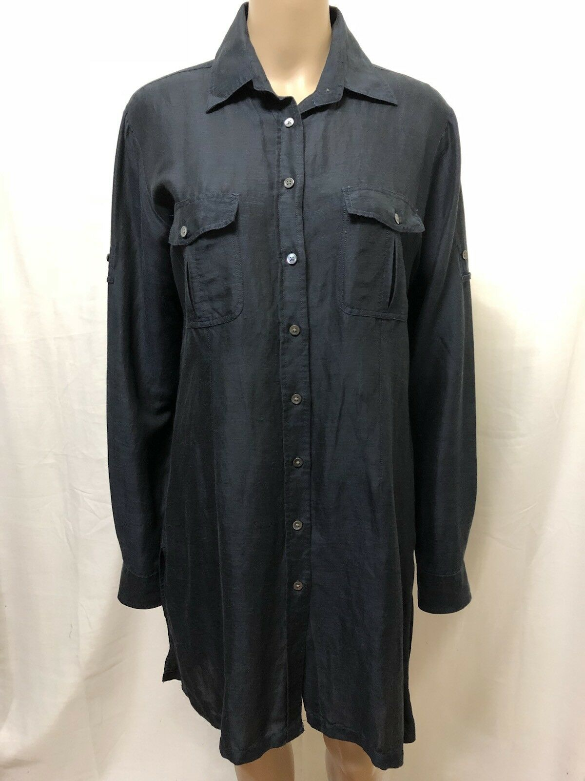 GANT COLLECTION DRESS WOMENS  SIZE 14  EXC COND LONG SLEEVES BUTTON DOWN STYLE