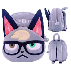 Animal Crossing Raymond Plush Backpack Cartoon School Bag Doll Kid Birthday Gift Ebay