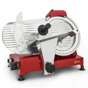 HKoenig-Allesschneider-Schneidemaschine-0-12mm-Messerschaerfer-240-Watt-rot