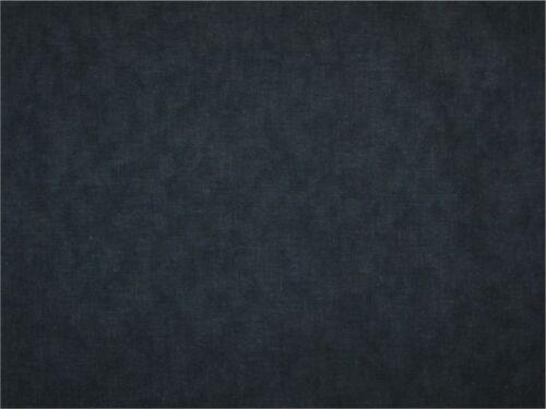 Wide Quilt Backing 108 width Black and Gray length /& shade Mottled blender