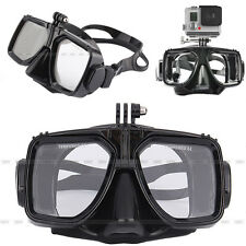 Camera Mount Diving Mask Scuba Snorkel Swimming Goggles For GoPro HD Hero 3 2 3+