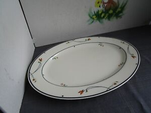 GORHAM-Ariana-Town-and-Country-Fine-China-Collection-Oval-Platter-14-034-EUC